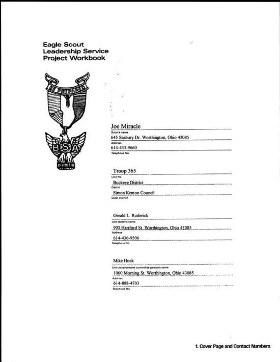 eagle scout workbook pdf download