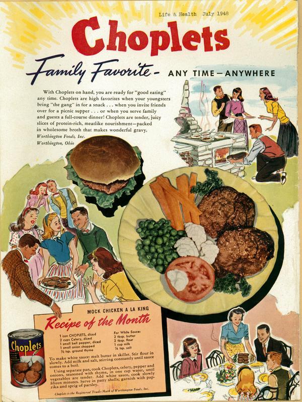 Worthington foods advertisement worthington memory downloads forumfinder Image collections